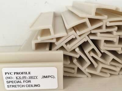 Pvc Profile For Stretch Ceiling