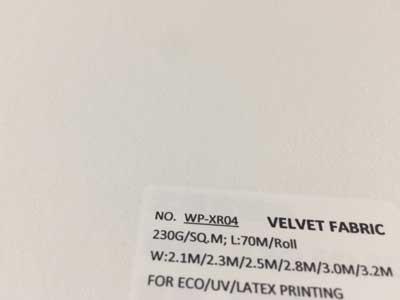 Velvet Vinyl Fabric For Wallpaper, Wallcovering